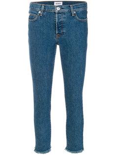 укороченные джинсы скинни Hudson