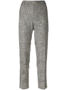 укороченные брюки с лампасами Essentiel Antwerp