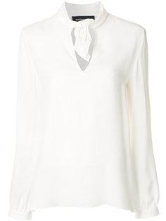 блузка с узлом на воротнике Vanessa Seward