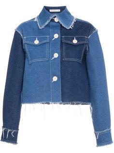 укороченная джинсовая куртка Rejina Pyo