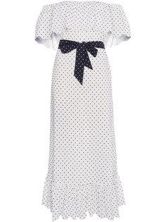 платье с заниженной линией плеч Marysia
