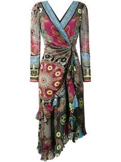 платье с V-образным вырезом Etro