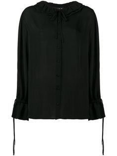 блузка с отделкой из рюшей Etro