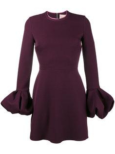 платье с манжетами колокол Roksanda