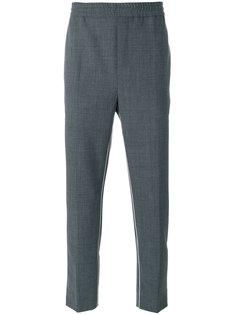брюки с контрастными полосками Wood Wood