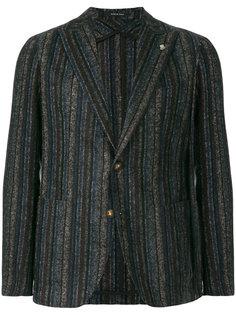 классический полосатый пиджак Tagliatore