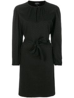 приталенное платье-рубашка A.P.C.