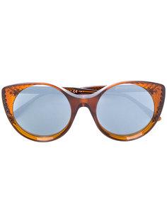 """солнцезащитные очки в оправе """"кошачий глаз"""" Bottega Veneta Eyewear"""