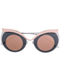 """солнцезащитные очки в оправе """"кошачий глаз"""" Boucheron"""