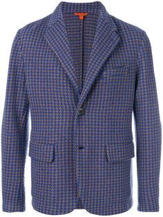 пиджак с узором в ломаную клетку Barena