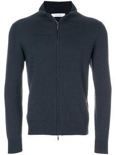 свитер на молнии с длинными рукавами Cruciani