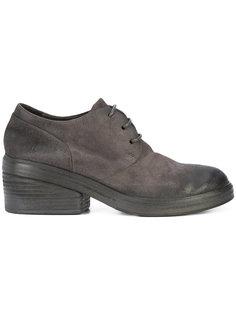 туфли со шнуровкой и потертой отделкой Marsèll