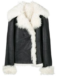 куртка с широкими лацканами Theory