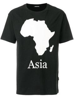 футболка с принтом Asia  Sankuanz