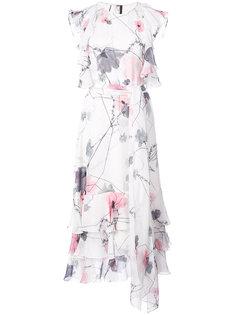 floral ruffle dress Thomas Wylde