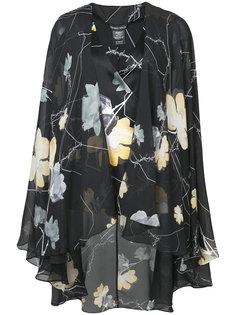v-neck floral print blouse Thomas Wylde