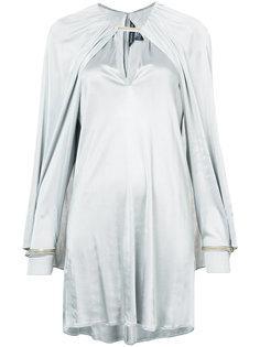 мини-платье с рукавами-кап Thomas Wylde