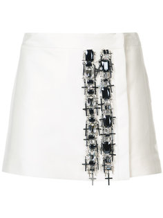декорированная юбка Pewter  Thomas Wylde