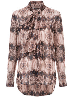 long sleeve printed blouse Thomas Wylde