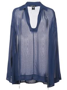 прозрачная блузка Refinement  Thomas Wylde