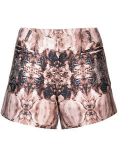 printed short shorts Thomas Wylde