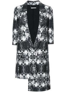 asymmetric printed blazer Thomas Wylde