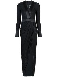 длинное платье Shelly Thomas Wylde