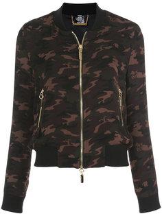 куртка-бомбер с камуфляжным принтом Thomas Wylde