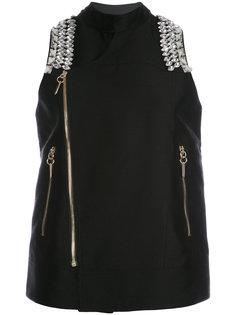 декорированный пиджак Salander  Thomas Wylde