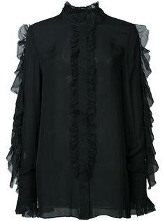 блузка с рюшами Keon Thomas Wylde