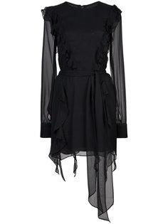 платье с рюшами Usbeorn  Thomas Wylde