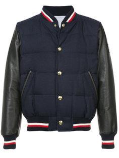 куртка-бомбер College Moncler Gamme Bleu