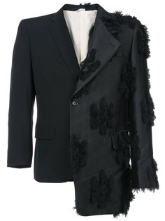 асимметричный пиджак с аппликацией Comme Des Garçons Homme Plus