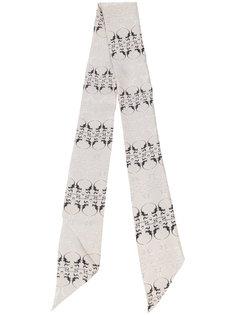 шарф с принтом Oleander  Thomas Wylde