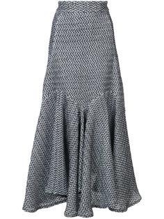 юбка с неровным подолом Maticevski