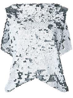 блузка Ethereal с пайетками Maticevski