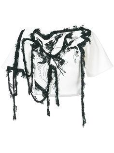 блузка с вышивкой Maticevski