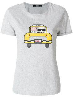футболка Karl & Choupette Taxi Karl Lagerfeld