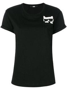футболка Ikonik Choupette Karl Lagerfeld