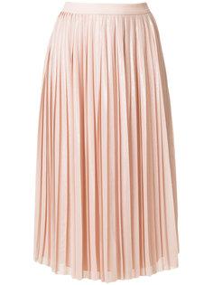 плиссированная юбка Georgette Karl Lagerfeld