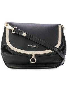 сумка через плечо жесткой формы Versace