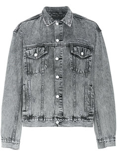 джинсовая куртка с нашивкой сзади Ksubi