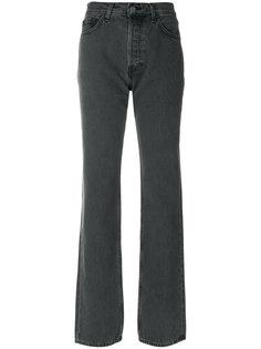 джинсы с выцветшим эффектом Yeezy