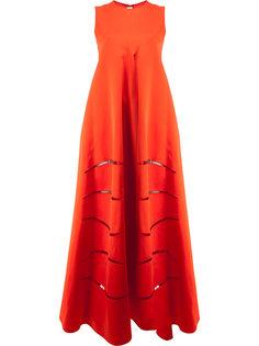 платье с прорезями Maison Rabih Kayrouz