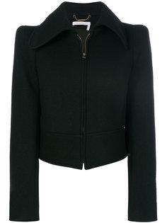 приталенная куртка на молнии Chloé