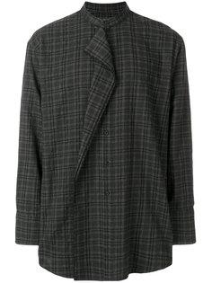 рубашка с воротником-мандарин Wooyoungmi