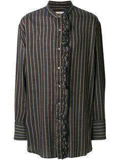 полосатая рубашка с рюшами Wooyoungmi