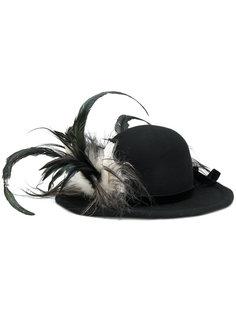шляпа с перьями Ann Demeulemeester