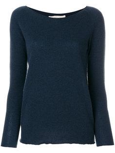 свитер с широким вырезом Lamberto Losani