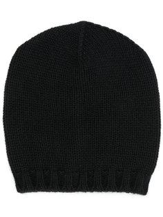 шапка-бини в рубчик Lamberto Losani